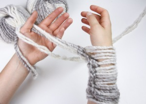 Arm Knitting 5